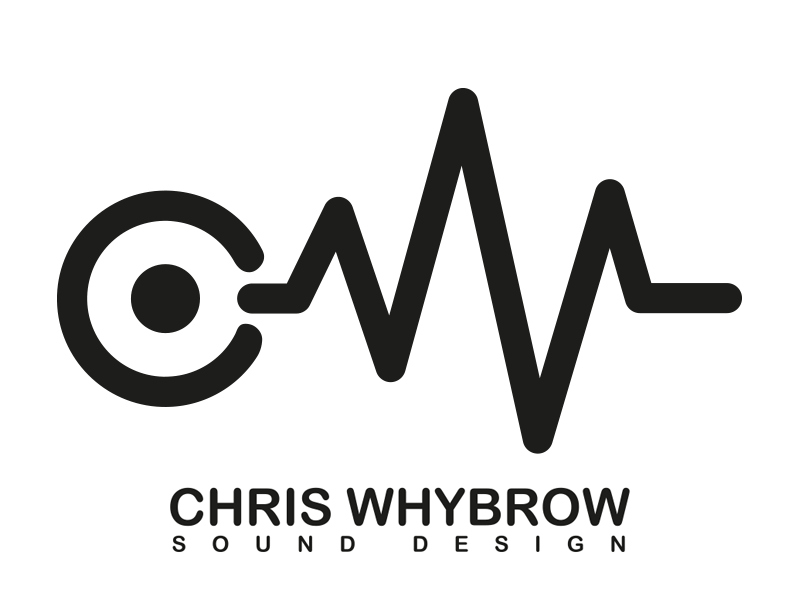 Chris Whybrow Sound Design | LOGO DESIGN